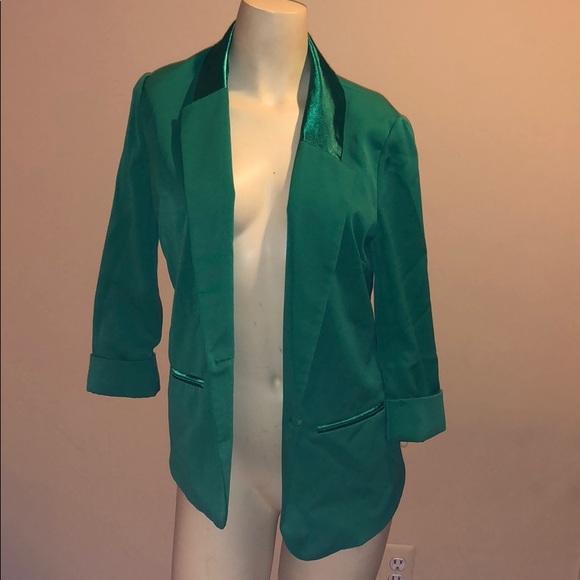 Jackets & Blazers - Green blazer